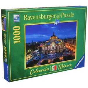 "Ravensburger (19842) - ""Palace of Fine Arts, Mexico"" - 1000 piezas"