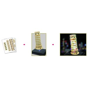 "Cubic Fun (L502H) - ""Pisa Tower"" - 15 piezas"
