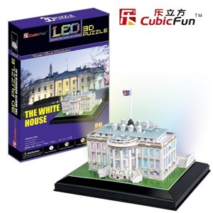 "Cubic Fun (L504H) - ""The White House"" - 56 piezas"