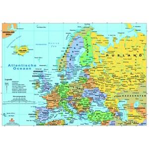 "PuzzelMan (125) - ""Map of Europe"" - 99 piezas"