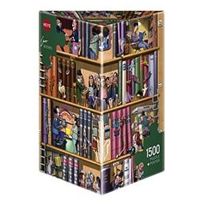"""Heye (29234) - Igor Kravarik: """"Books"""" - 1500 piezas"""
