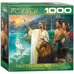 "Eurographics (8000-0356) - Nathan Greene: ""First Creation in Eden"" - 1000 piezas"
