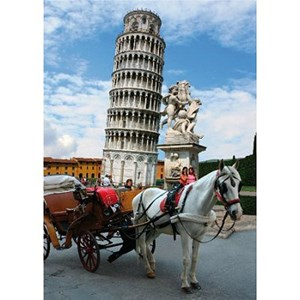 "D-Toys (64288-FP03) - ""Pisa Tower, Italy"" - 1000 piezas"