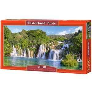 "Castorland (C-400133) - ""Krka Waterfalls, Croatia"" - 4000 piezas"