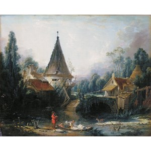 """D-Toys (72696-1) - François Boucher: """"Beauvais"""" - 1000 piezas"""
