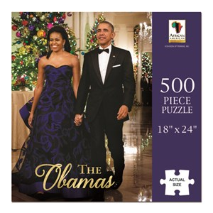 """African American Expressions (PUZ-09) - """"The Obamas"""" - 500 piezas"""