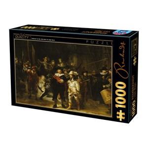 "D-Toys (73792-1) - Rembrandt: ""Night Watch"" - 1000 piezas"