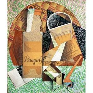 """Puzzle Michele Wilson (A324-150) - Juan Gris: """"The Banyuls' bottle"""" - 150 piezas"""