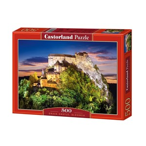 "Castorland (B-51489) - ""Orava Castle, Slovakia"" - 500 piezas"