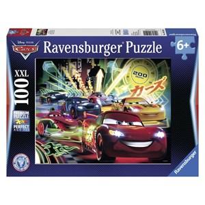 "Ravensburger (10520) - ""Cars Néon"" - 100 piezas"
