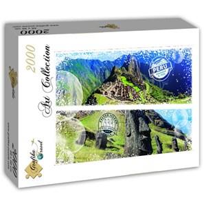 "Grafika (T-00229) - ""Chile and Peru"" - 2000 piezas"