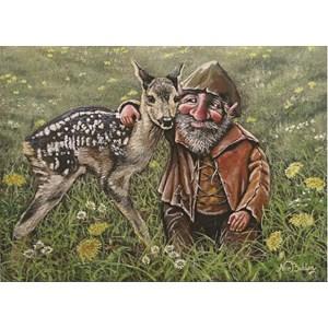 """PuzzelMan (233) - Nico Bulder: """"The Goblin"""" - 99 piezas"""