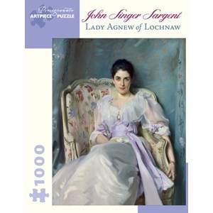 """Pomegranate (AA866) - John Singer Sargent: """"Lady Agnew Of Lochnaw"""" - 1000 piezas"""