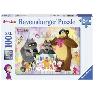 "Ravensburger (10590) - ""Masha and the Bear"" - 100 piezas"