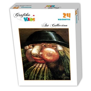 "Grafika Kids (00215) - Giuseppe Arcimboldo: ""The Greengrocer"" - 24 piezas"