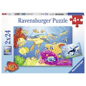 "Ravensburger (07815) - ""Colorful Underwater World"" - 24 piezas"