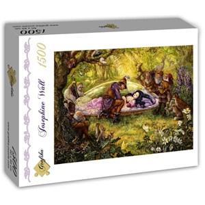 "Grafika (T-00266) - Josephine Wall: ""Snow White"" - 1500 piezas"