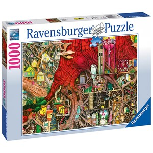 "Ravensburger (19644) - Colin Thompson: ""Hidden World"" - 1000 piezas"