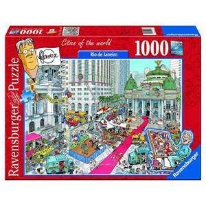 """Ravensburger (19453) - """"Rio de Janeiro"""" - 1000 piezas"""