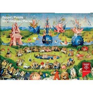 """PuzzelMan (765) - Hieronymus Bosch: """"El jardín de las delicias"""" - 1000 piezas"""
