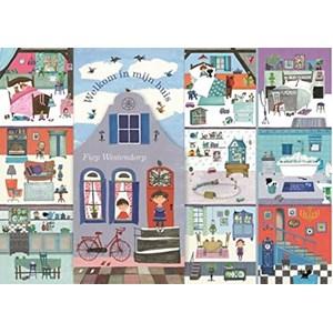 """PuzzelMan - Fiep Westendorp: """"Het Huis van Fiep!"""" - 1000 piezas"""
