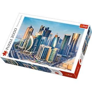 """Trefl (27084) - """"Doha, Catar"""" - 2000 piezas"""