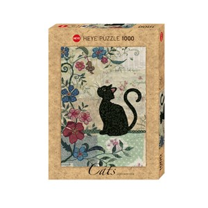 "Heye (29808) - Jane Crowther: ""Cat & Mouse"" - 1000 piezas"