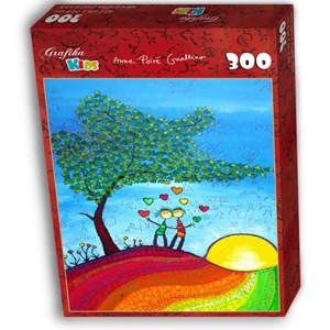 """Grafika Kids (01715) - Anne Poire, Patrick Guallino: """"Signes et Sillons de Bonheur"""" - 300 piezas"""
