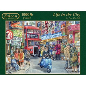 "Jumbo (11090) - Jim Mitchell: ""Life in the City"" - 1000 piezas"