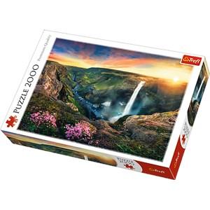 "Trefl (27091) - ""Haifoss Waterfall, Iceland"" - 2000 piezas"