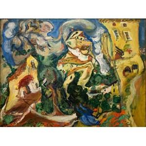 "Grafika (00451) - Chaim Soutine: ""Le Village, 1923"" - 2000 piezas"