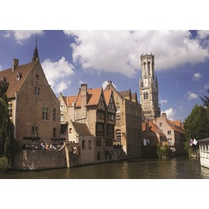 "PuzzelMan (406) - ""Belgium, Bruges"" - 1000 piezas"