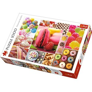 "Trefl (10469) - ""Candy Collage"" - 1000 piezas"