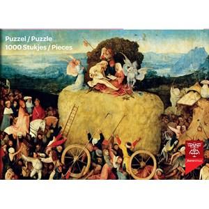 "PuzzelMan (766) - Jerome Bosch: ""Wheat Cart"" - 1000 piezas"