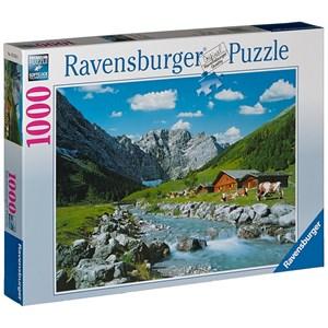 """Ravensburger (19216) - """"Karwendel Mountains, Austria"""" - 1000 piezas"""