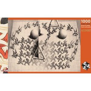 """PuzzelMan (833) - M. C. Escher: """"Magic Mirror"""" - 1000 piezas"""
