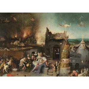 "PuzzelMan (768) - Jerome Bosch: ""The Temptation of St Anthony"" - 1000 piezas"