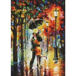 "PuzzelMan (789) - Leonid Afremov: ""Dance Under The Rain"" - 1000 piezas"