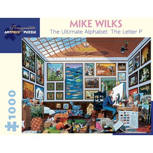 """Pomegranate (AA897) - Mike Wilks: """"The Ultimate Alphabet: The Letter P"""" - 1000 piezas"""