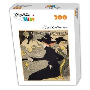 """Grafika Kids (00453) - Henri de Toulouse-Lautrec: """"Divan Japonais, 1892-1893"""" - 300 piezas"""