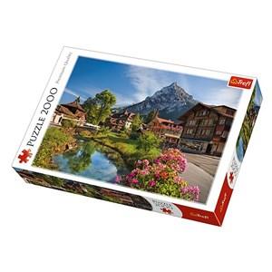 "Trefl (27089) - ""Alps in the Summer"" - 2000 piezas"