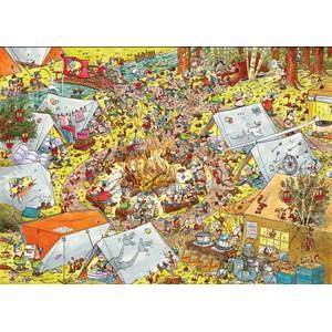 """PuzzelMan (791) - Rene Leisink: """"Scouting"""" - 1000 piezas"""