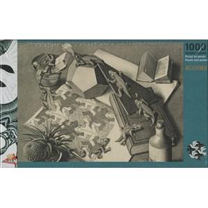 "PuzzelMan (821) - M. C. Escher: ""Reptiles"" - 1000 piezas"