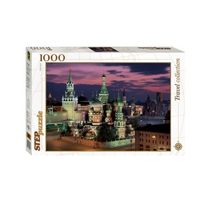 """Step Puzzle (79075) - """"Red Square, Moscow"""" - 1000 piezas"""