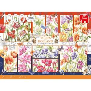"Jumbo (18852) - Janneke Brinkman: ""Tulips from Holland"" - 1000 piezas"