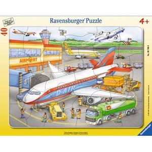 """Ravensburger (06700) - """"Little Airport"""" - 40 piezas"""