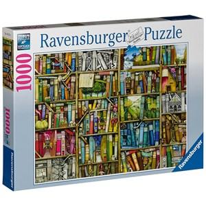 "Ravensburger (19137) - Colin Thompson: ""Bizarre Bookshop"" - 1000 piezas"