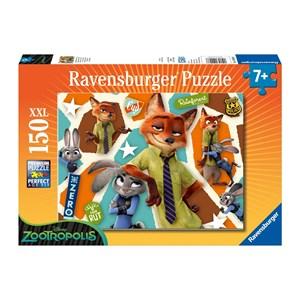 """Ravensburger (10028) - """"Zootopia"""" - 150 piezas"""