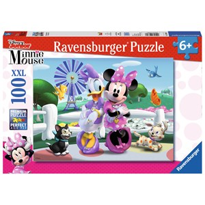 "Ravensburger (10881) - ""Minnie and Daisy"" - 100 piezas"
