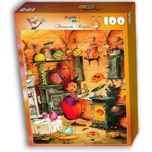 """Grafika Kids (01454) - François Ruyer: """"The Witch"""" - 100 piezas"""